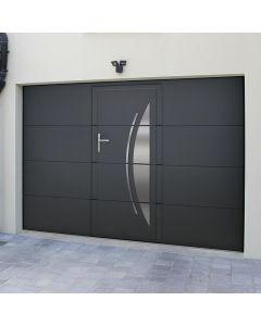 Porte de garage sectionnelle plafond isolante et motorisée  porte de garage sectionnelle motorisée haut de gamme allie deux qualités essentielles : une isolation optimum et une excellente résistance à l'effraction. L'isolation grâce aux joints sur les 4