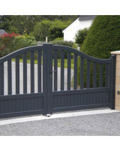 Le portail en aluminium Pavillon sobre et élégant, il s'adapte à toutes les envies. Installé par monsieur store Plan de Campagne